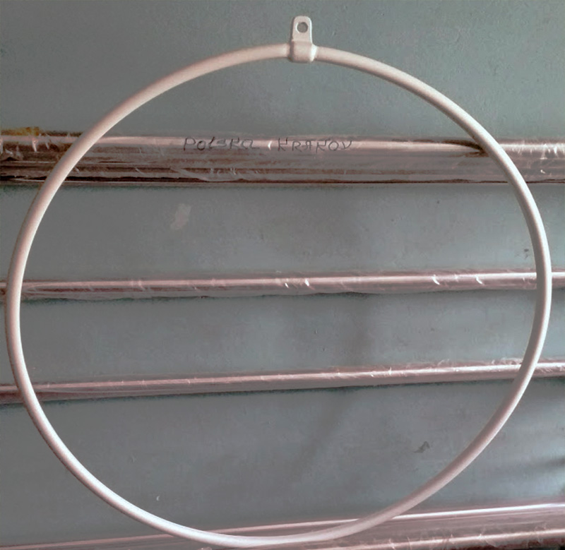1 point Aerial Hoop with bar set