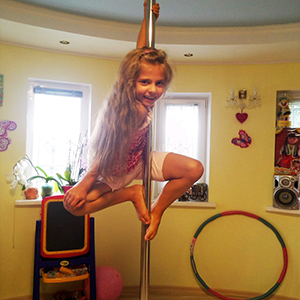 Spinning pole S