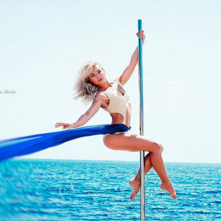 Summer pole Spinning
