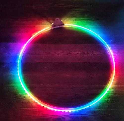 Led Lyra — светящиеся кольцо