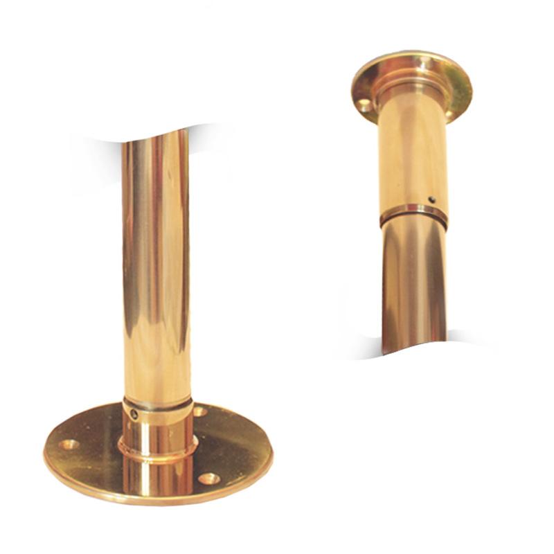 Золотой пилон для pole dance