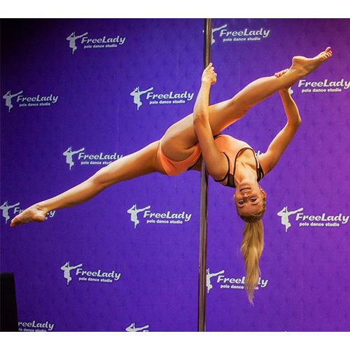 Школа спортивного танцю на пілоні «Freelady»